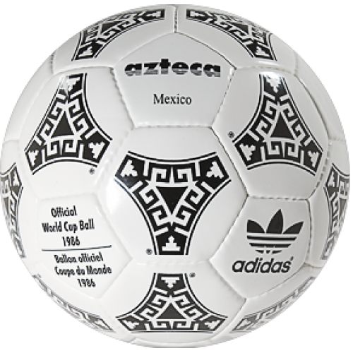 Correctamente Lobo con piel de cordero no relacionado  World Cup Ball 1986, all list of FIFA World Cup balls in our classic  football shop
