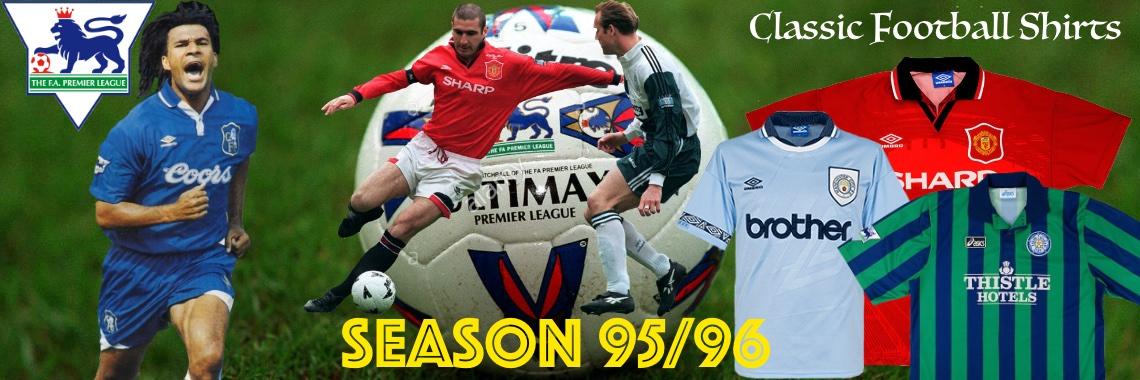 FA Season 95/96 shirts
