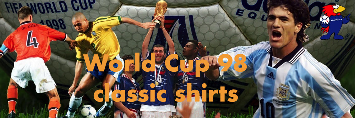 Worlc Cup 98 shirts