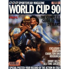 Sports Year Magazine World Cup 90
