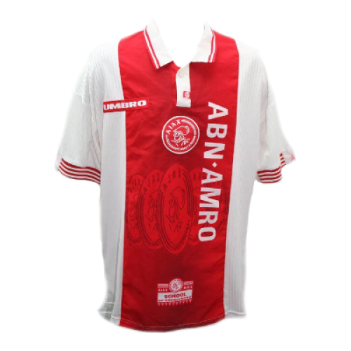 Ajax retro shirt home 1997 1998 classic football shirt for Classic house 1998