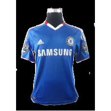 Fernando Torres #9 Chelsea Hemmatröja 2010-2011