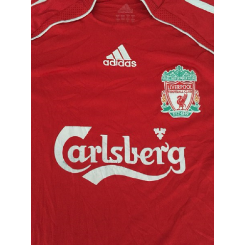 Liverpool retro shirt home 2006 2007 classic football shirt for Classic house 2006