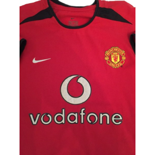 dd30586c6f5 Manchester United retro shirt home 2002-2003