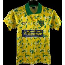 Norwich City Hemmatröja 1992-1994