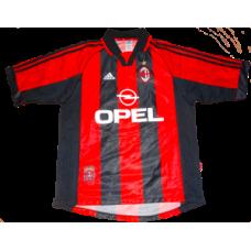 Paolo Maldini #3 AC Milan Hemmatröja 1998-2000
