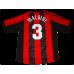 Paolo Maldini #3 AC Milan Home 1998-2000