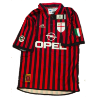 Shevchenko #7 AC Milan Home 1999-2000