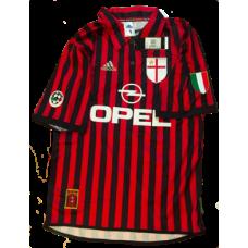 Shevchenko #7 AC Milan Hemmatröja 1999-2000