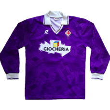 Fiorentina Home Long Sleeve 1992-1993