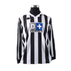 Zidane #21 Juventus Home Long Sleeve 1998-1999