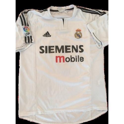 buy online 1595b cd4bb Real Madrid retro shirt home 2003-2004 Ronaldo, classic ...