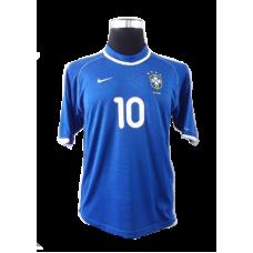 Rivaldo #10 Brasilien Bortatröja 2000-2001