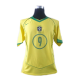 Ronaldo #9 Brasilien Hemmatröja 2004-2005