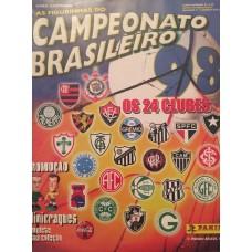Panini Campeonato Brasileiro 1998