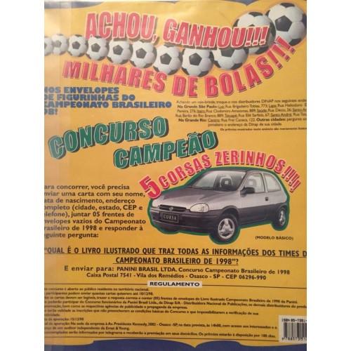 Panini Campeonato Brasileiro: Panini Campeonato Brasileiro 1998